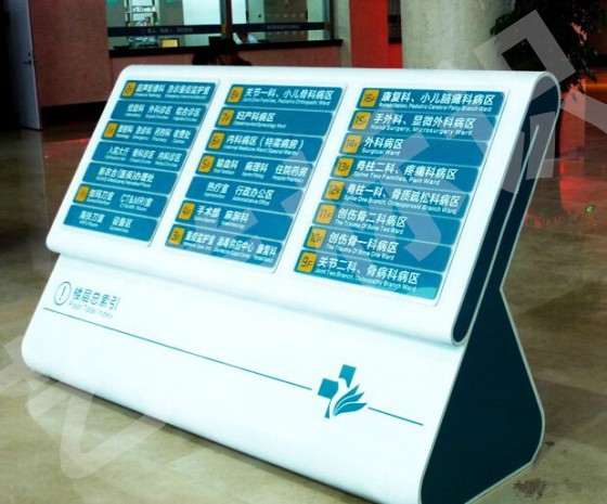 潍坊医院室内标识标牌