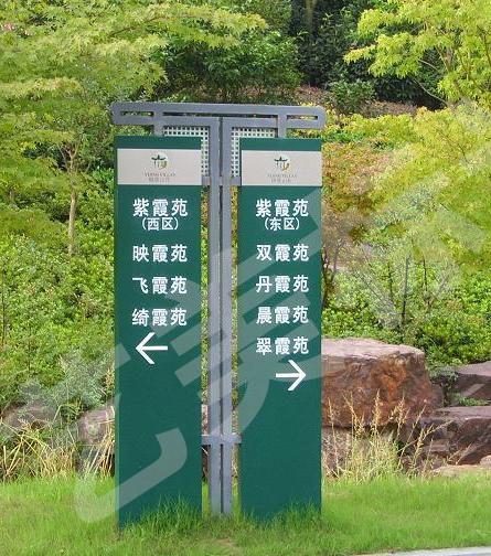东营立地指示牌